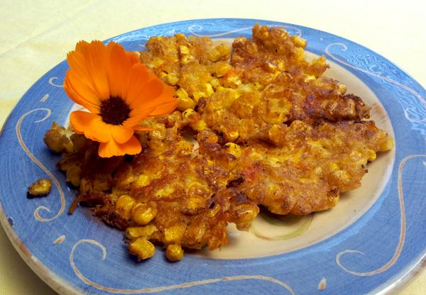 Corn And Marigold Fritters(angola)