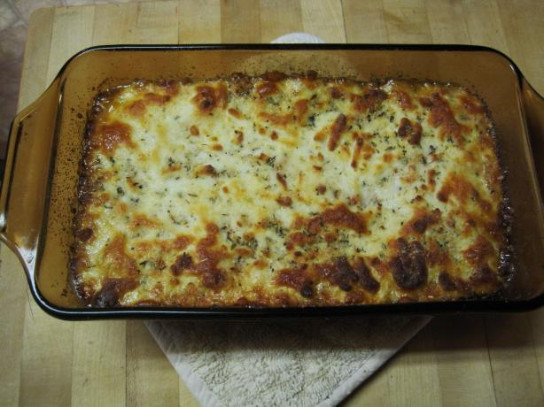 Low Carb Creamy 'Lasagna'
