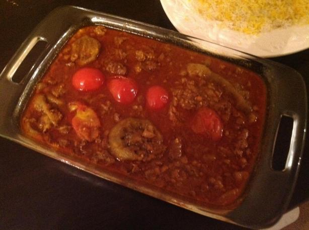 Khoresht-E Bademjan (Eggplant Stew)