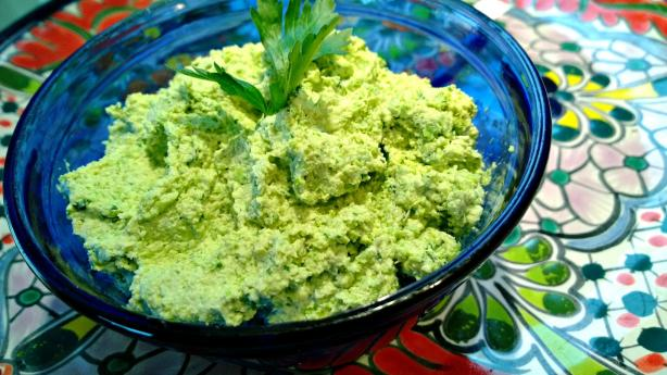 Middle Eastern Edamame Dip