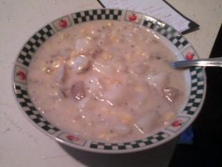 Lea's Cheesy Potato Soup