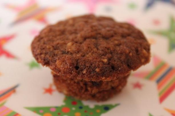 Mexican Chocolate Oatmeal Pepita Mini Muffins