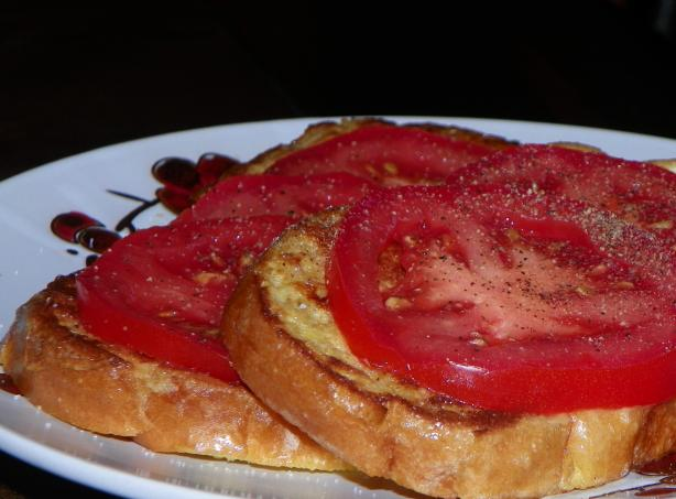 French Toast With Tomatoes
