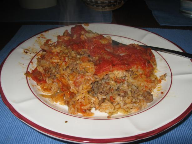 Un-Rolled Cabbage Rolls