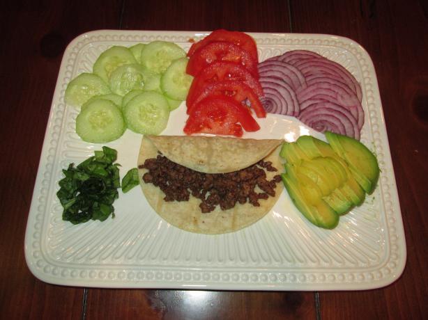 Persian Tacos W/Vegetarian Option