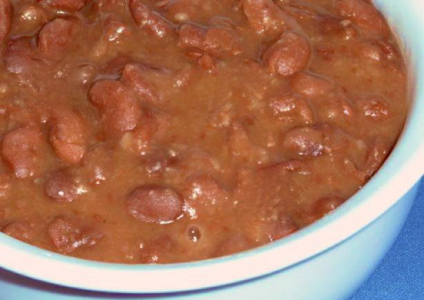 Homestyle Beans With Ham