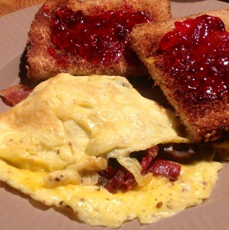 Tuscan Cheese Omelet