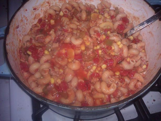 Awesomesauce Goulash!
