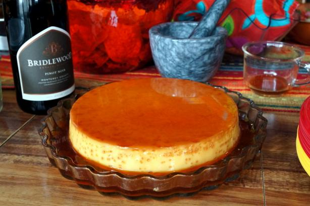 Maple Caramel Flan