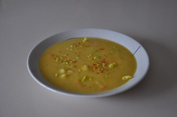 Cauliflower & Caraway Soup