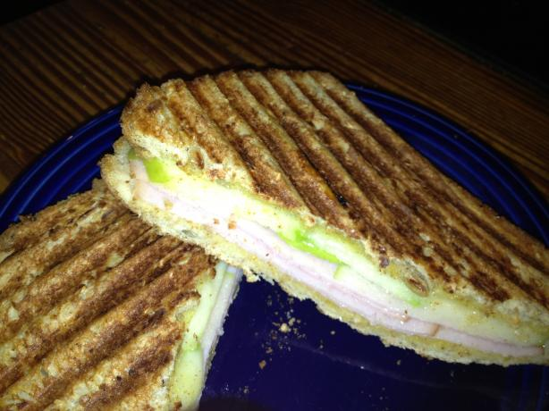 Turkey and Apple Melt Sandwich