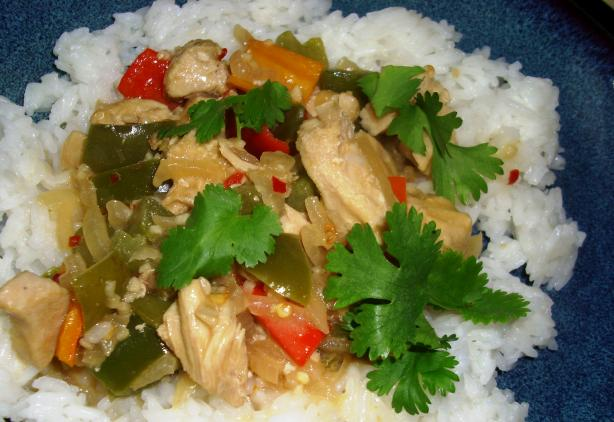 Caribbean Coconut Chicken