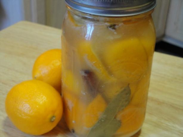Morrocan Preserved Lemons