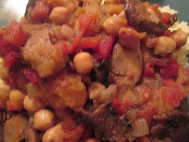 Moroccan Mushroom Tagine