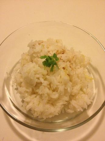 Ginger Cooked With Rice