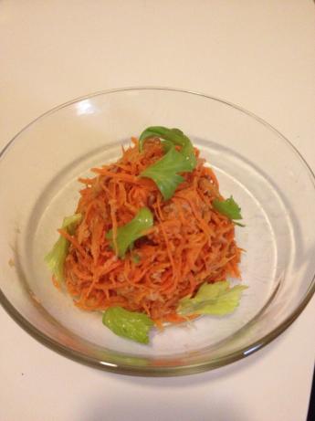 Carrot & Tuna Salada