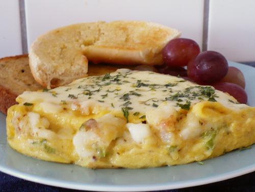 LOBSTER OR CRAB OMELET