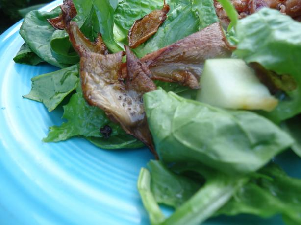 Warm Chanterelle Salad