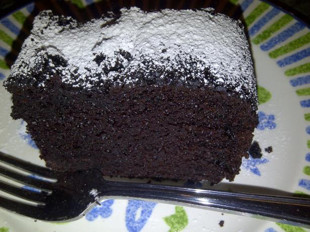 One Bowl Dark Chocolate Cake