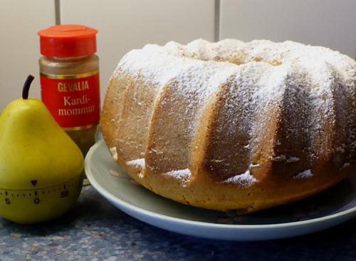 Norwegian Cardamom Cake