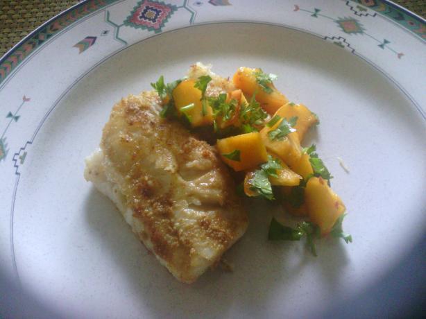 Moroccan-Style Tilapia With Cumin, Mango and Cilantro Recipe