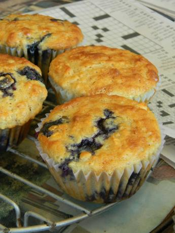 Berry Powerful Muffins