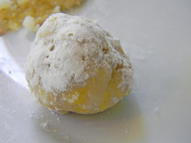 Sour Lemon Snowball Cookies