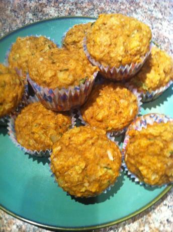 Vegan Zucchini Pineapple Muffins