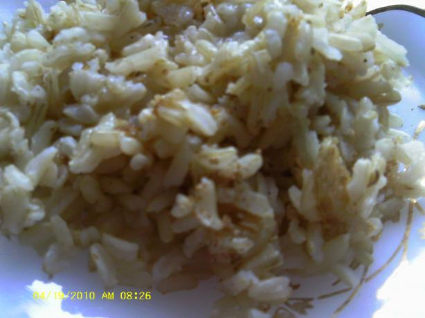 Moroccan Brown Rice (rice Cooker)