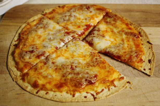 Crispy Tortilla Pizza