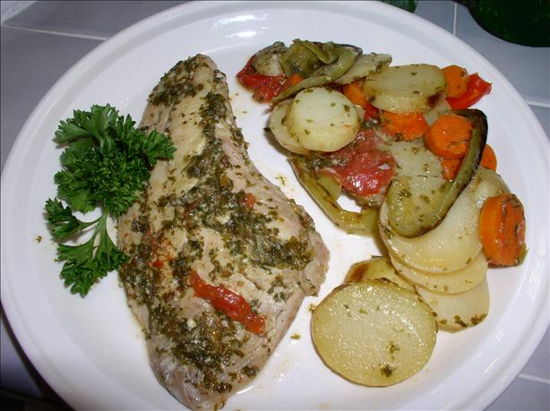 Moroccan Red Snapper With Cumin Seeds
