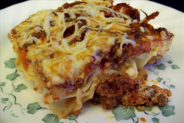 Easy Lazy Lasagna