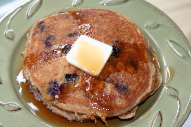 My Best Blueberry Buttermilk Pancakes