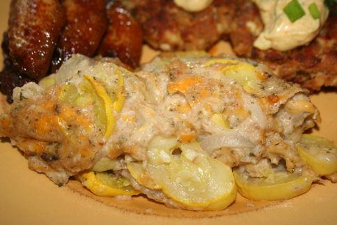 Boston Yellow Squash Casserole