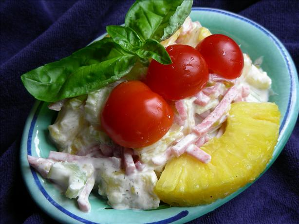 Pineapple Ham Salad