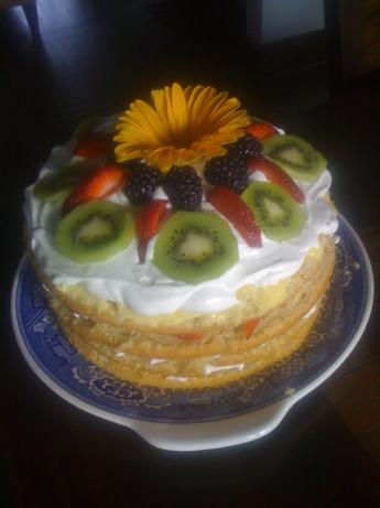 Margaret Houston's White Cake