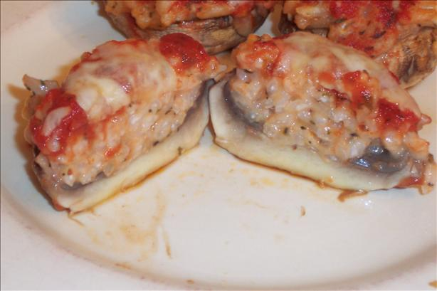 Funghi Ripieni (Stuffed Mushrooms)
