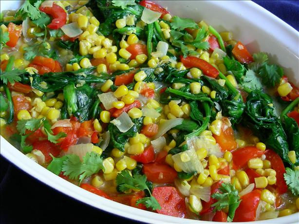 Spicy Corn Ragout