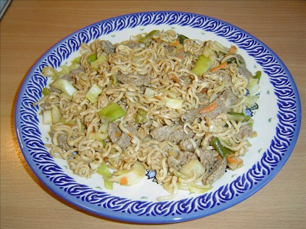 Oriental Beef Noodles