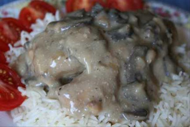 Southern Creamy Mushroom Chicken