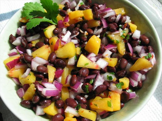 Black Beans and Peaches