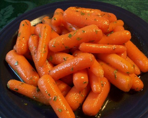 Lemony Glazed Carrots