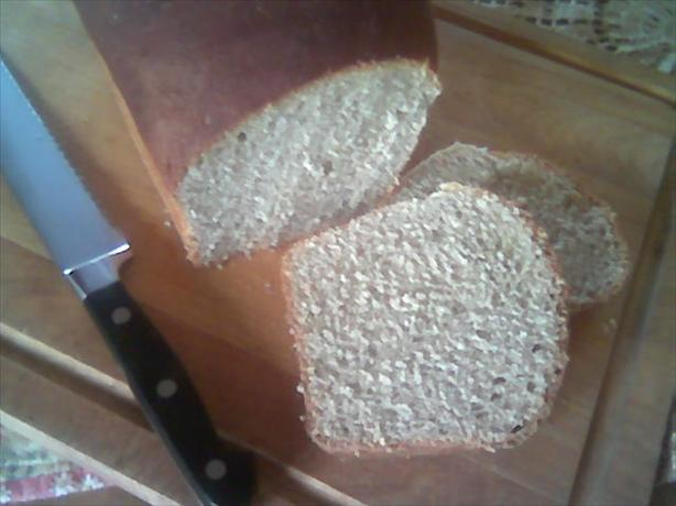Banana Wheat Bread (Bread Machine)