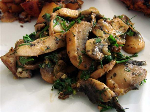 Danished Glazed Mushrooms