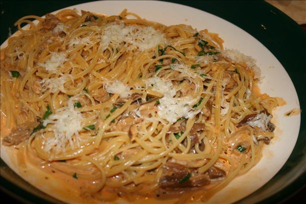 Pasta With Porcini Mushroom Sauce