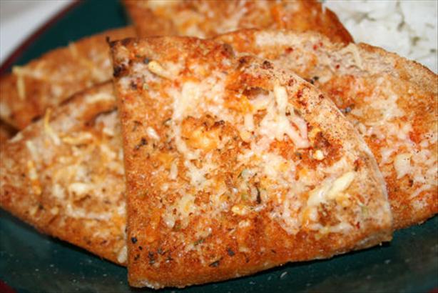 Healthier Garlic Bread