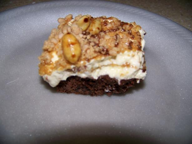 Peanut Chocolate Parfait Dessert