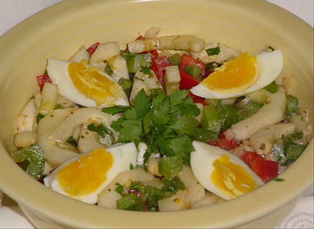 Serbian Cucumber-Pepper Salad
