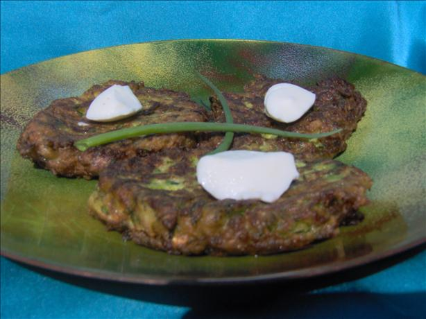 Zucchini-Scallion Fritters