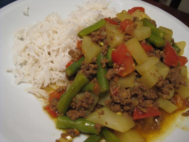 Pakistani Kima (hamburger Curry)